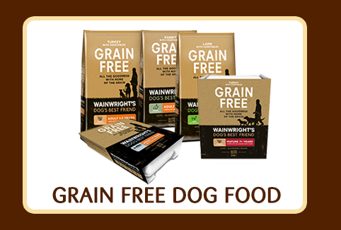 shop dog grain free