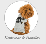 Knitwear and hoodies