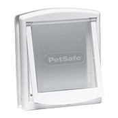 Small White Cat Flap 705