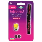 Yellow Key Collar for Infra-Red Cat Flaps 580