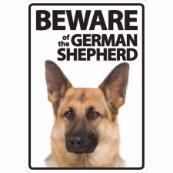 Beware of the German Shepherd