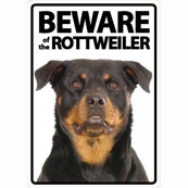 Beware of the Rottweiler