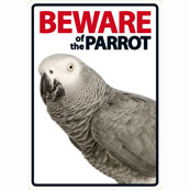 Beware of the Parrot