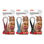 Velour Soft Cat Flea Collar