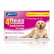 Johnson's 4Fleas for Dogs 6 Pack Tablets