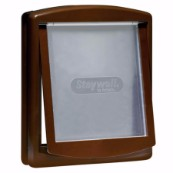 Two-Way Large Brown Pet Door 770