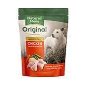 Natures Menu Pouch Adult Dog Food with Chicken 300gm
