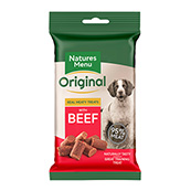 Natures Menu Dog Treats with Beef 60gm