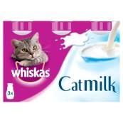 Whiskas Cat Milk 200ml 3 Pack