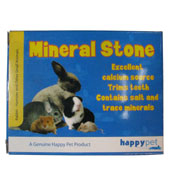 Mineral stone for small animals