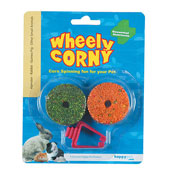 Wheely Corny x 2 Pack by Happy Pet