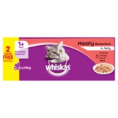 Whiskas 24Pk Adult Cat Food Tins 400gm
