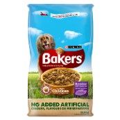 Bakers Senior Complete Dog Food with Chicken, Rice & Vegetables 12.5kg