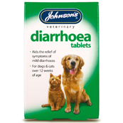 Diarrhoea Tablets x 12 for Dogs and Cats