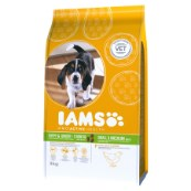 Iams Small/Medium Breed Complete Puppy Food with Chicken 3kg