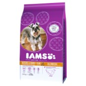 Iams Senior Complete Dog Food with Chicken 3kg