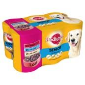 Pedigree in Loaf Senior 6 Pack