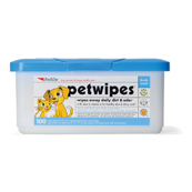 Pet Wipes for Cats and Dogs 100 Pack Tub