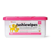 Tushie Wipes for Cats and Dogs 100 Pack Tub