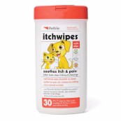 Itch Wipes for Cats and Dogs x 30