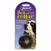 Johnson's Standard Plastic Flea Collar for Dogs