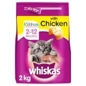 Whiskas Kitten Complete Food with Chicken 2kg