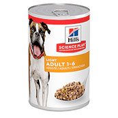 Hills Science Plan Light Adult Dog Food Tins 370gm