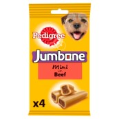 Pedigree Mini Jumbone Dog Treat with Beef
