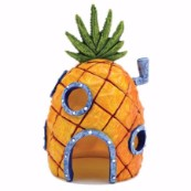 Pineapple Home Aquarium Ornament