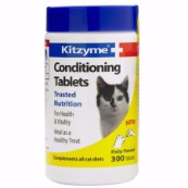 Kitzyme Cat Conditioning Tablets 300