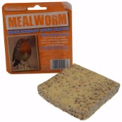 High Energy Suet Block with Mealworm