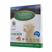 Natures Harvest Puppy Complete Dog Food with Chicken & Rice 395gm