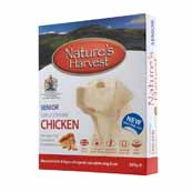 Natures Harvest Senior Complete Dog Food with Chicken & Rice 395gm