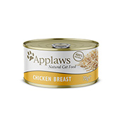 Chicken Cat Food Tin 70g by Applaws