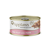 Tuna and Prawn Cat Food Tin 70g by Applaws