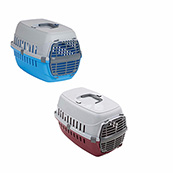 Small Plastic Door Carrier for Cats and Small Dogs