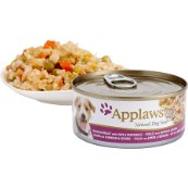 Applaws Adult Dog Food Tin with Chicken, Ham & Vegetables 156gm