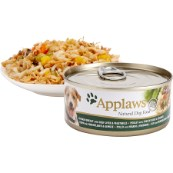 Applaws Adult Dog Food Tin with Chicken, Beef Liver & Vegetables 156gm