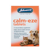 Calm-Eze Tablets x 36 for Cats and Dogs by Johnson's
