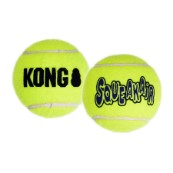 KONG Air Squeaker Tennis Ball Extra Small Dog Toy 3Pk