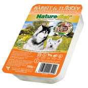 Naturediet Adult Dog Food with Rabbit, Turkey, Vegetables & Rice 390gm