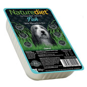 Naturediet Tray Adult Dog Food with Fish, Potato & Rice 390gm