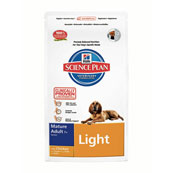 Hill's Science Plan Light Mature Dog Food with Chicken 3kg