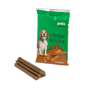 Dog Chew Sticks with Turkey 150gm