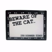 Beware of the Cat Mat