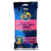 Antimicrobial Litter Tray Wipes with Byotrol
