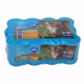 Pets at Home Adult Chunks In Gravy Cat Food Tins 400gm 12 Pack