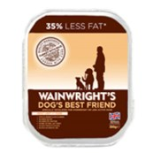 Wainwright's Light Adult Tray Dog Food with Turkey & Rice 395gm