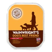 Wainwright's Mature Tray Dog Food with Turkey & Rice 395gm