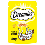Dreamies with Delicious Cheese Cat Treats 60gm